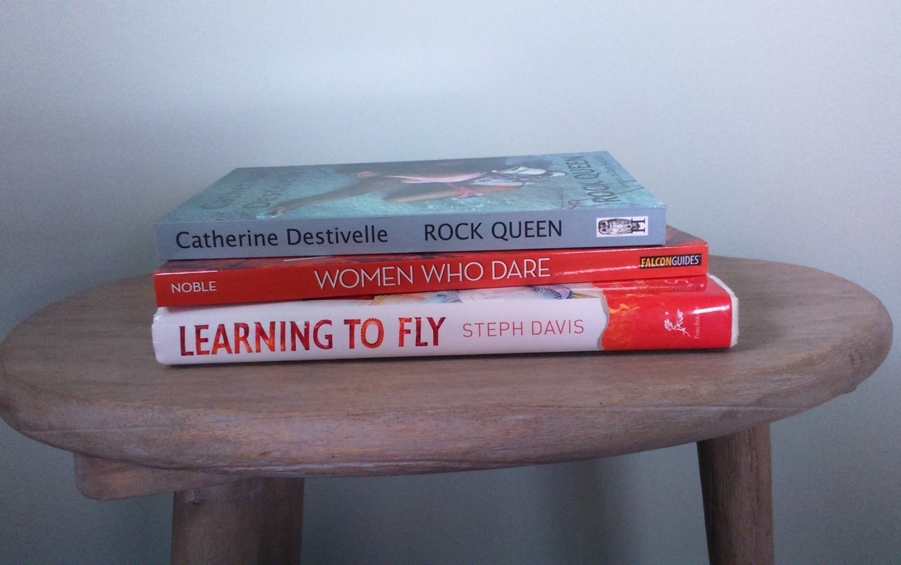 Inspiring books by Women in Adventure