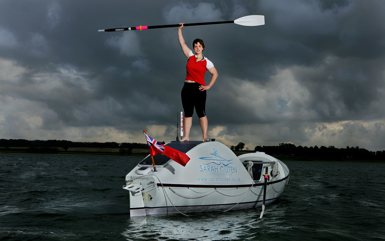 Sarah Outen – cycling, rowing and kayaking around the world!